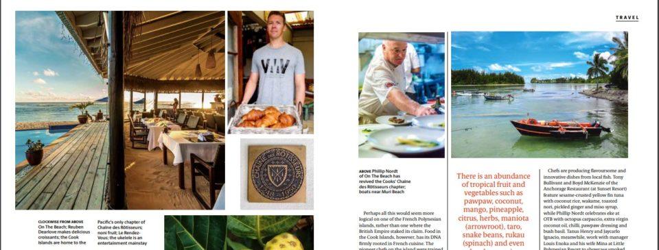 cusine magazine cook islands
